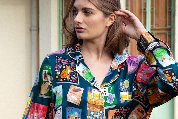 Fashion designer Karen Mabon collaborates with Agatha Christie Limited