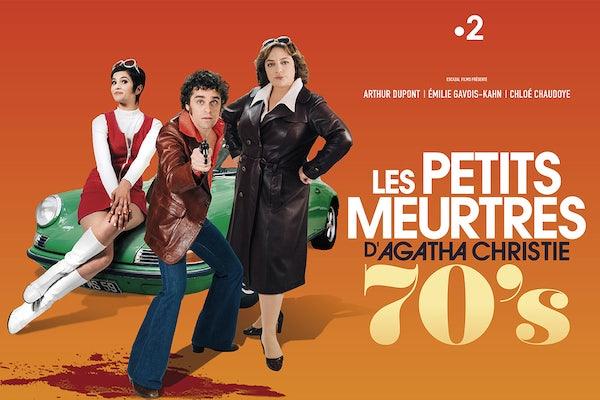 Les Petits Meurtres d'Agatha Christie - 70s - premieres in France