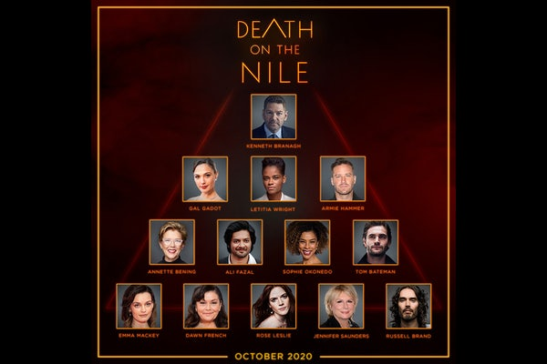 Production begins on Twentieth Century Fox's Death on the Nile