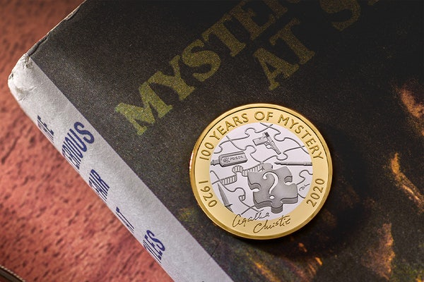 The Royal Mint release an Agatha Christie £2