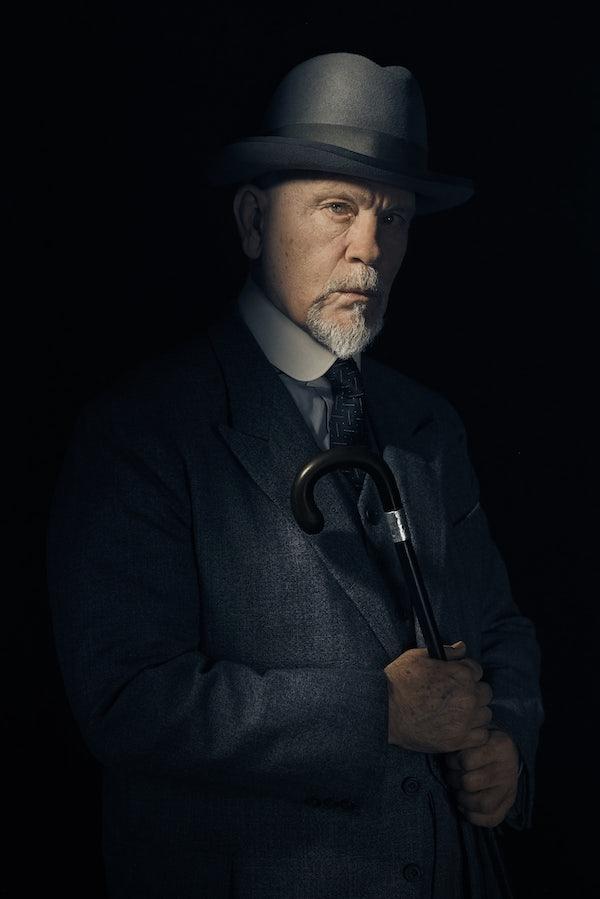 First look - John Malkovich as Hercule Poirot