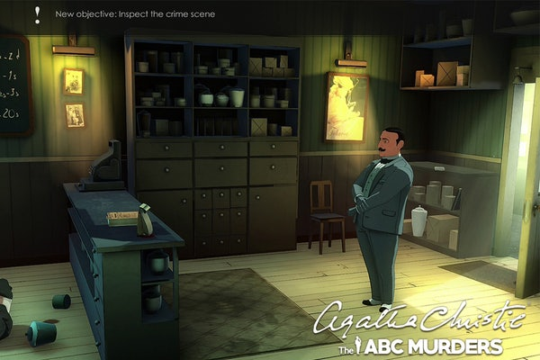 The ABC Murders game now available on Nintendo Switch