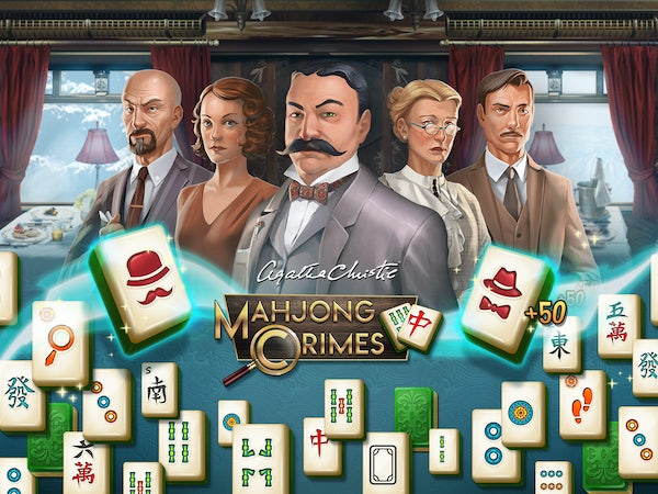 Spil Games launches Murder on the Orient Express Mahjong